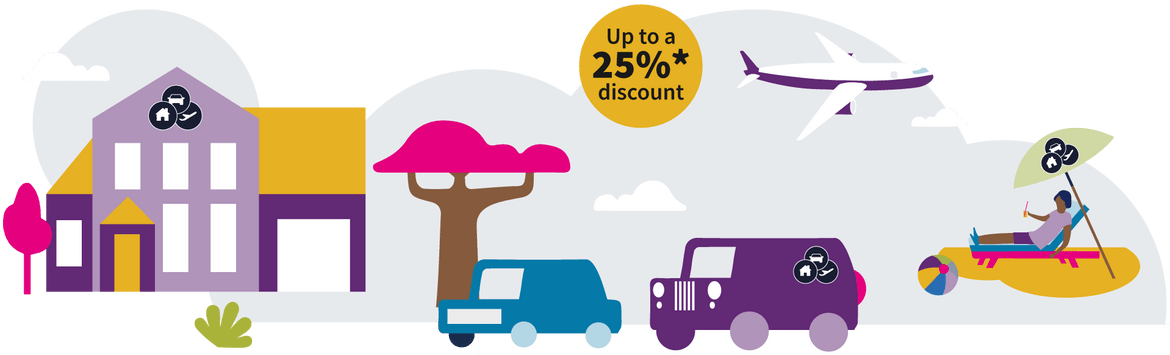 JWS Trinity - Motor, Home and Travel insurance in one package